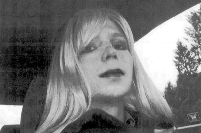 Las primeras imágenes del soldado Manning como Chelsea.