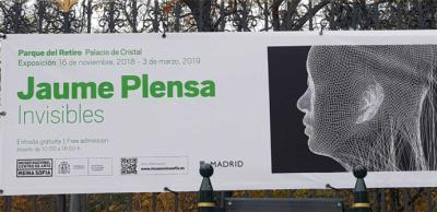 Jaume Plensa presenta Invisibles, un proyecto concebido específicamente para el Palacio de Cristal