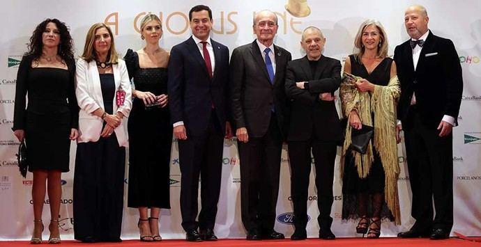 Moreno asiste a la inauguración del nuevo Teatro Soho Caixabank en Málaga