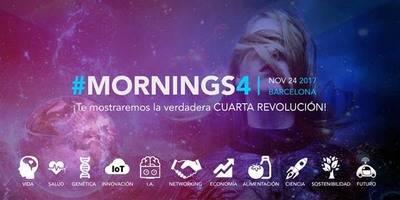 #Mornings4: Cómo será nuestra vida tras la cuarta revolución industrial y por qué