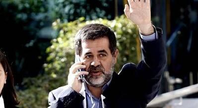 El líder independentista de la Asamblea Nacional Catalana (ANC), Jordi Sánchez