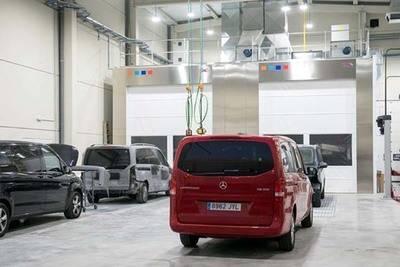La filial de Mercedes-Benz España, amplía sus instalaciones de Pinto