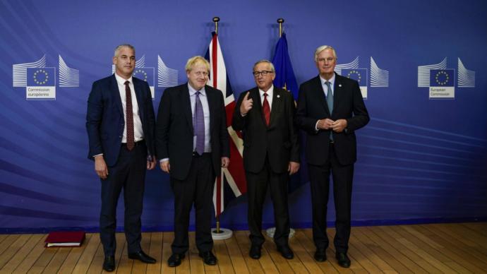 Reino Unido y Unión Europea alcanzan principio de acuerdo para Brexit