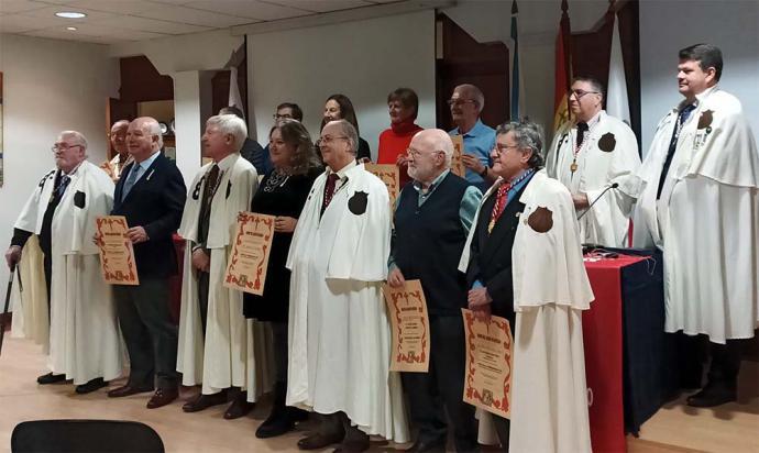 Capítulo extraordinario de la Orden del Camino de Santiago en las Azores