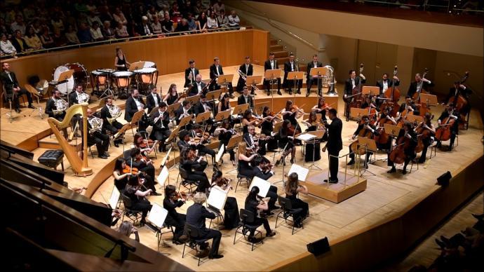 Orquesta Clásica Santa Cecilia, en una imagen de archivo