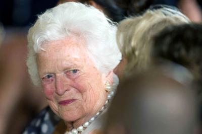 Muere Barbara Bush, exprimera dama de EE.UU.