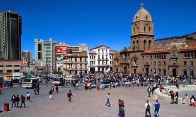 La Paz, Bolivia (imagen de referencia)