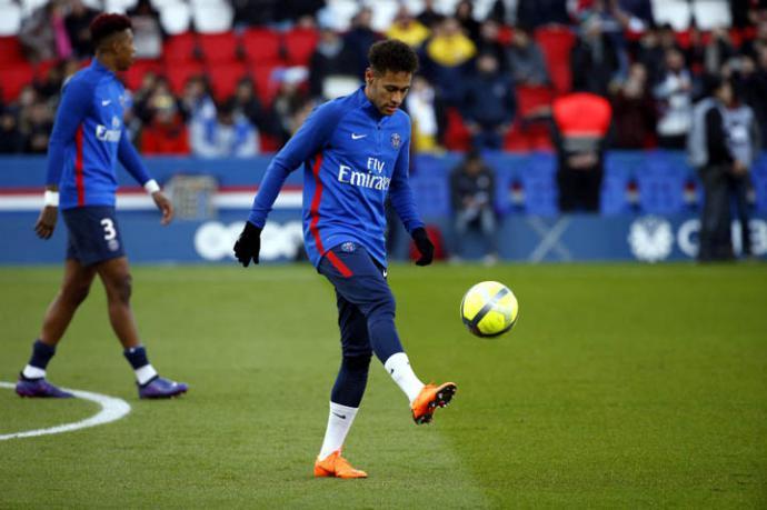 Neymar, delantero brasileño del PSG