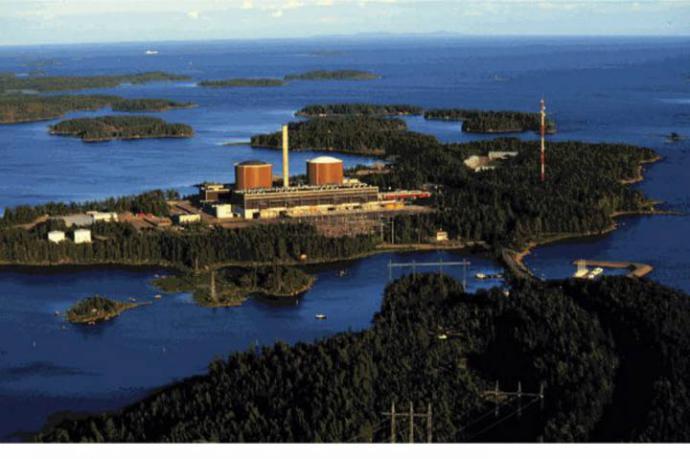 Finlandia tiene cuatro reactores nucleares que proveen el 30% de su electricidad. Este es el de la isla de OlkiluotoWorld Nuclear Association