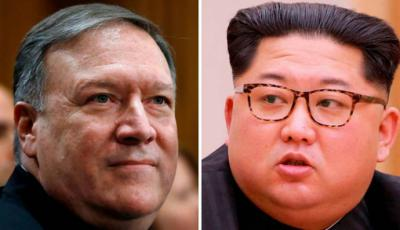 El director de la CIA, Mike Pompeo, se reunió en secreto con Kim Jong-un.