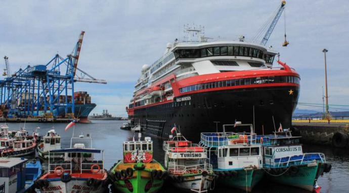 Positivo balance de Corporación de Puertos de Cono Sur por temporada de cruceros