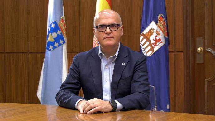 Manuel Baltar,  presidente de la Diputación de Ourense