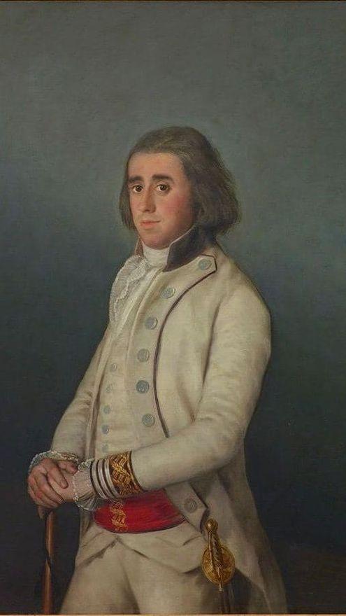 Retrato de don Valentín Belvís de Moncada, de Francisco de Goya.