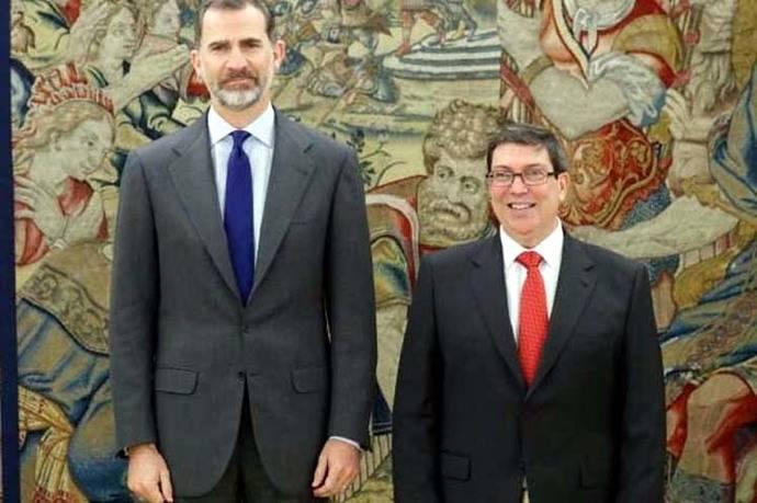 El canciller cubano invita a Felipe VI y a Rajoy a visitar Cuba