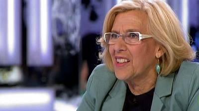 Manuela Carmona, alcaldesa de Madrid