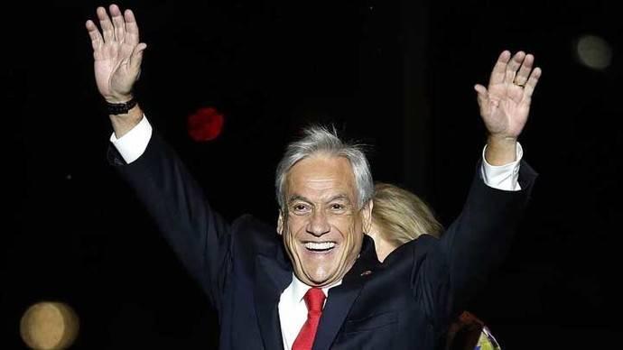 Sebastián Piñera, gana la segunda vuelta en Chile