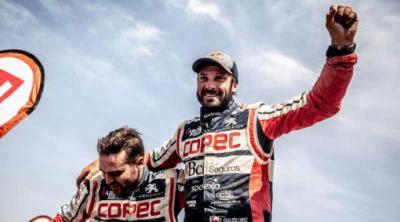 """El chileno Francisco """"Chaleco"""" López es Campeón del Dakar 2019 en Side By Side"""