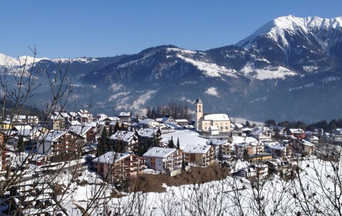 Estación de Esquí de Laax, en Suiza