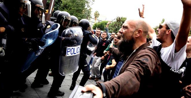 El juez no ve 'muros humanos' el 1-O en colegios de Barcelona y descarta que los votantes 'acometieran' contra la Policía