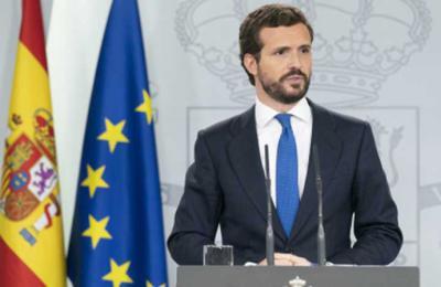 Casado solo negociará con Sánchez si el Gobierno asume las políticas económicas y territoriales del PP