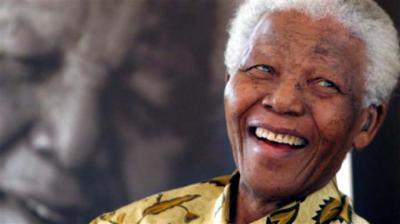 Nelson Mandela, legendario líder antiapartheid y primer presidente de Sudáfrica Democrática. Foto: Archivo.