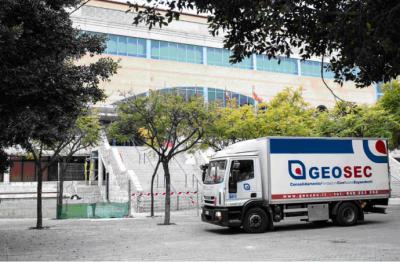 Consolidación estructural de accesos al Palacio de los Deportes de Murcia