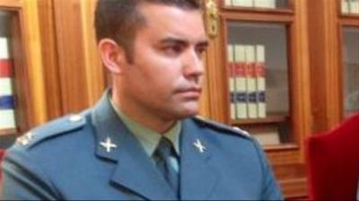 El comandante de Paiporta, Eduardo Aranda ahora trasladado a nuevo destino