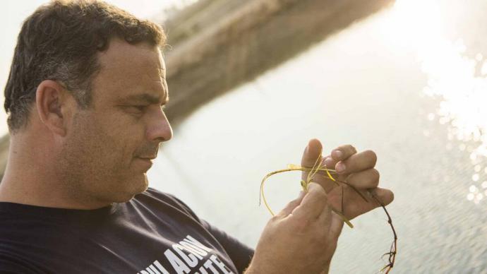 Ángel León presentó recientemente la zostera marina.   Foto: Aponiente