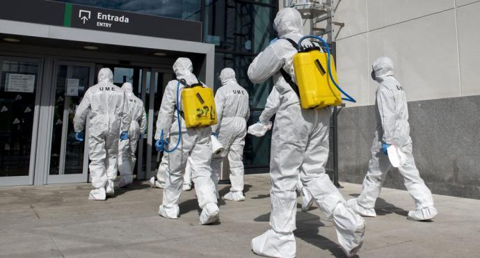 España: La muerte de 107 personas en un día eleva a 598 la cifra de fallecidos por coronavirus