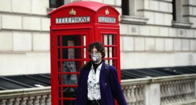 El Reino Unido confirma más de 100 muertos por coronavirus