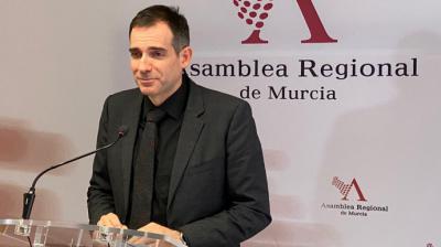 Juan José Liarte, portavoz de los 'díscolos' de Vox' en el Parlamento de Murcia