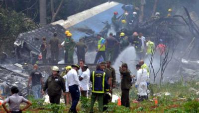 Cuba: Avión con 104 personas a bordo se estrelló tras despegar
