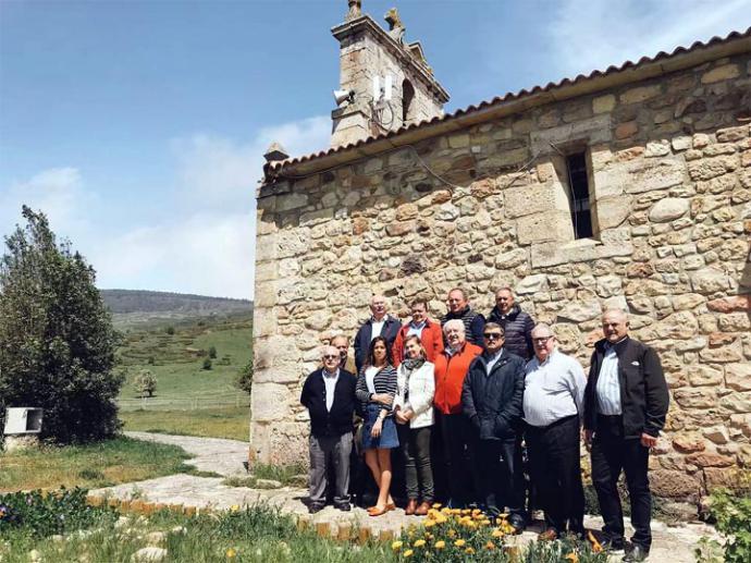 """El grupo gastronómico """"Los Compangos"""" visitó el municipio de Campoo de Yuso"""