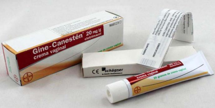 Gine Canesten, la mejor crema para la zona íntima femenina