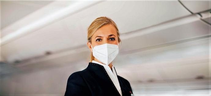 Las 10 aerolíneas más seguras del mundo frente a la COVID-19, una española