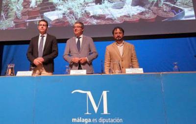 Salado resalta el compromiso de la Diputación para luchar contra el cambio climático con acciones de eficiencia energética y reforestación