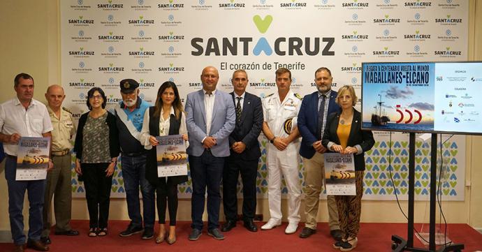 Santa Cruz de Tenerife conmemora el V Centenario de la Vuelta al mundo de Magallanes con una regata.