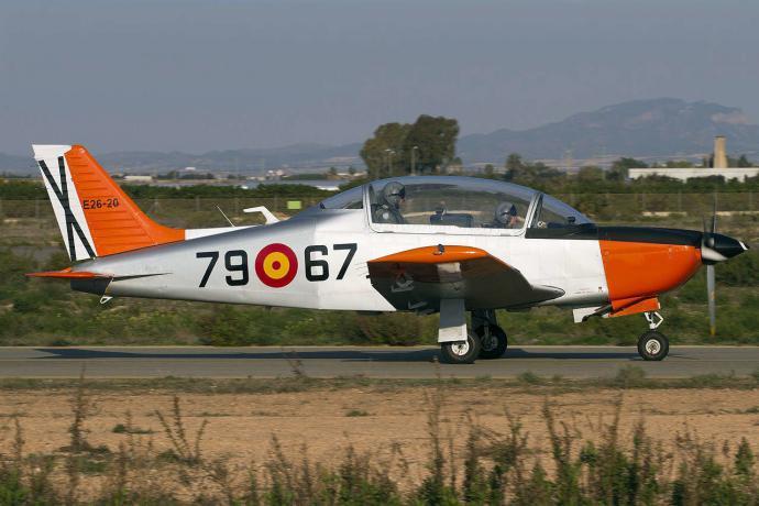 Una avioneta similar a ésta es el aparato siniestrado hoy