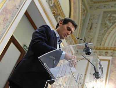 Albert Rivera, líder de C's