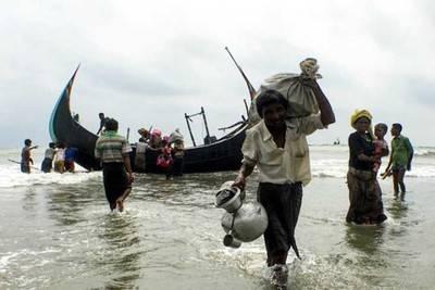 Huir hacia Bangladesh por mar ha sido la principal salida que han hallado los rohingya de Birmania. (Foto Amnistía Internacional)