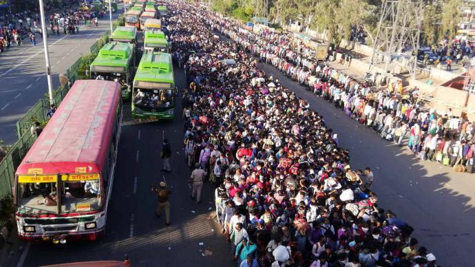 India extiende confinamiento hasta el 31 de mayo