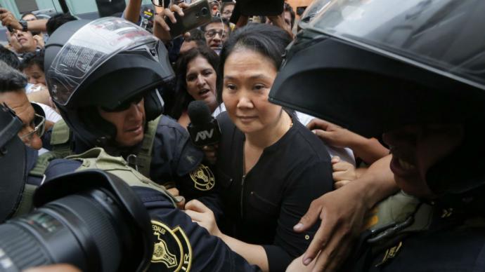Keiko Fujimori pide salir de prisión por riesgo de contagiarse con el virus de Wuhan