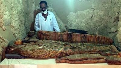 El hallazgo se dio cerca de la actual ciudad de Luxor