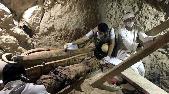 La tumba data de la 18ª dinastía egipcia.