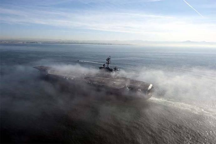 Flota de guerra de EE.UU. está todavía lejos de Corea del Norte