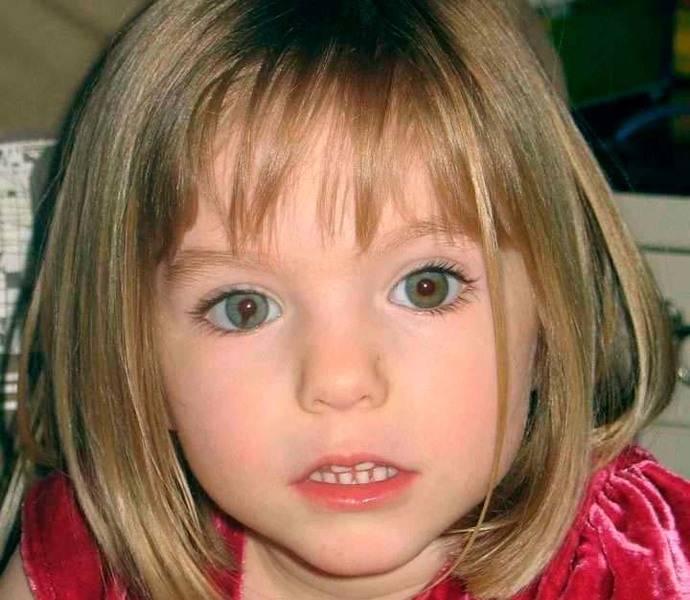 Madeleine horas antes de desaparecer. Tenía 3 años y faltaban días para su cumpleaños.