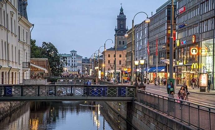 El fin del verano en Gotemburgo