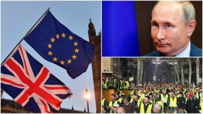 El 2018 un año de discordia en Europa