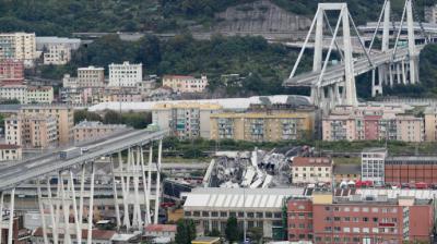 Proyecto reemplazará a puente de Génova que se derrumbó