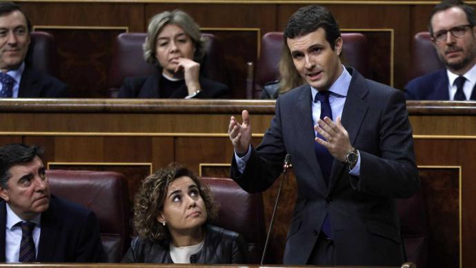 Casado acusa a Torra de buscar un 'derramamiento de sangre' y 'una guerra civil' en Catalunya